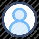 account, admin, user icon