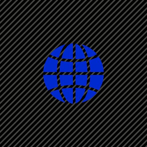 globe, internet, network, web, world, www icon