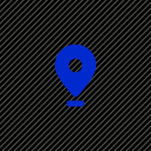 gps, location marker, location pin, location tracker, map, navigation icon