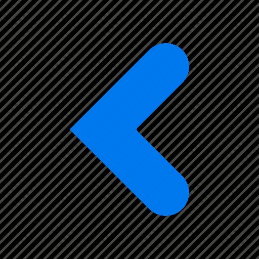 arrow, back, backword, left icon