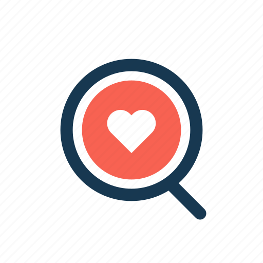 browse, favorite, heart, like, rating, search icon