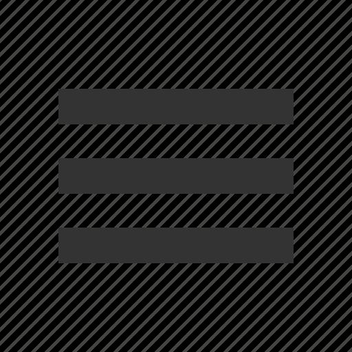 Hamburger, list, menu, options, stack icon - Download on Iconfinder