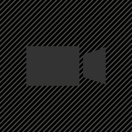 movie, video, video camera icon