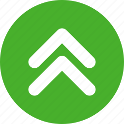 arrow, direction, green, up icon