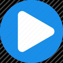 audio, begin, go, media, play, run, start icon