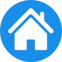 blue, building, estate, home, house, real