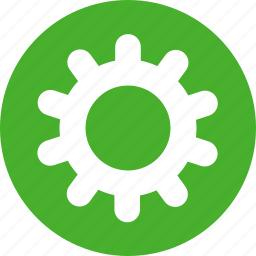 gear, green, options, preferences, setting, settings icon