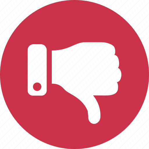 dislike, down, thumb, thumbs, vote icon
