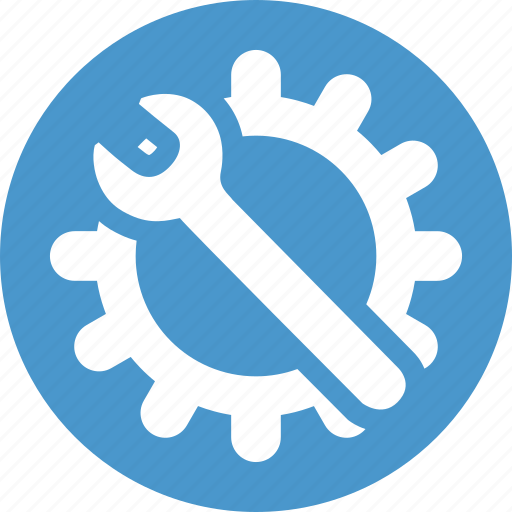 config, configuration, gear, options, settings, tools, wrench icon