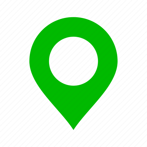 direction, gps, green, location, map, marker, navigation icon