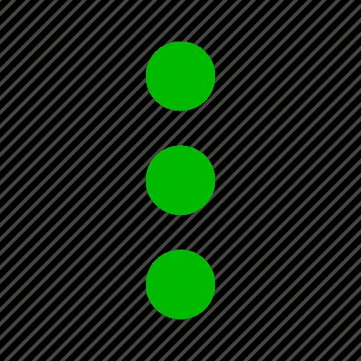 continue, dot, dots, ellipsis, list, menu, more icon