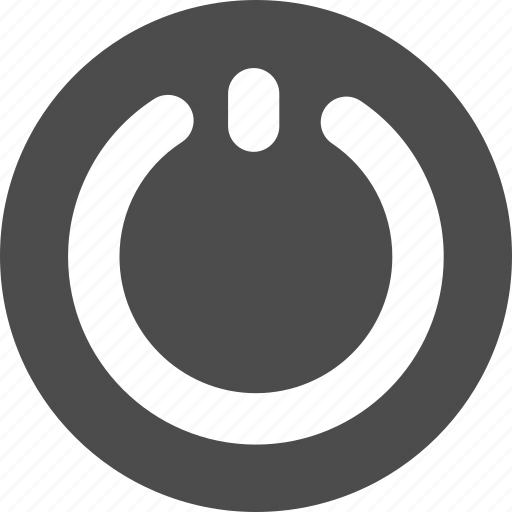 down, off, power, shut, switch icon