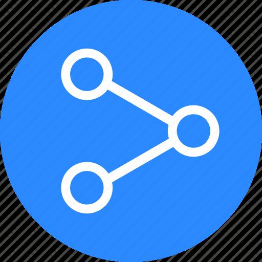 share, sharing, social icon