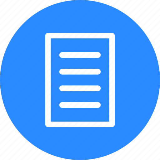 article, document, file, page, paper, text, writing icon