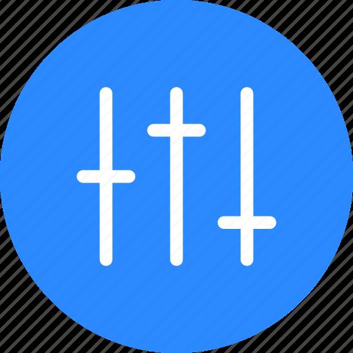 blue, circle, options, preferences, seo, settings, tools icon