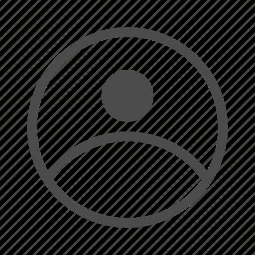 account, avatar, human, man, person, profile icon