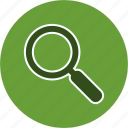 find, magnifying glass, zoom