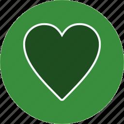 favourite, heart, like icon