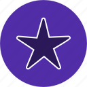 favorite, favourite, rating, star icon