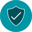 badge, protection, shield, valid icon