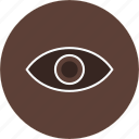 concept, eye, view, vision icon