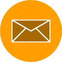 email, envelope, inbox, mail icon