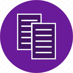 documents, files, papers, sheets icon