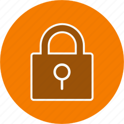 lock, pad lock, protected icon