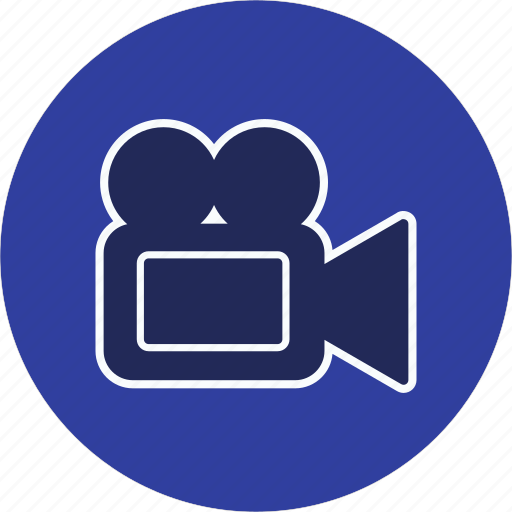 movie, multimedia, video camera icon
