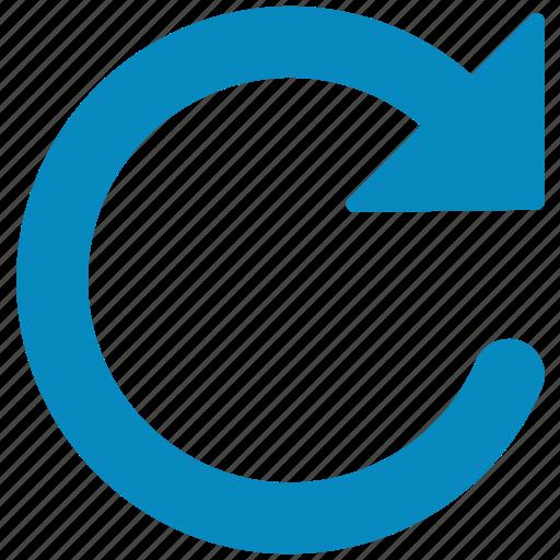refresh, reload, renew, restore, rotate, update icon