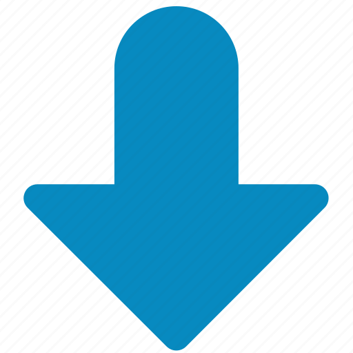 arrow, bottom, direction, down, download, downward, guardar, save icon