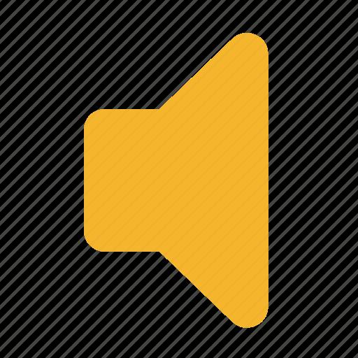 audio, low, off, sound, speaker, volume icon