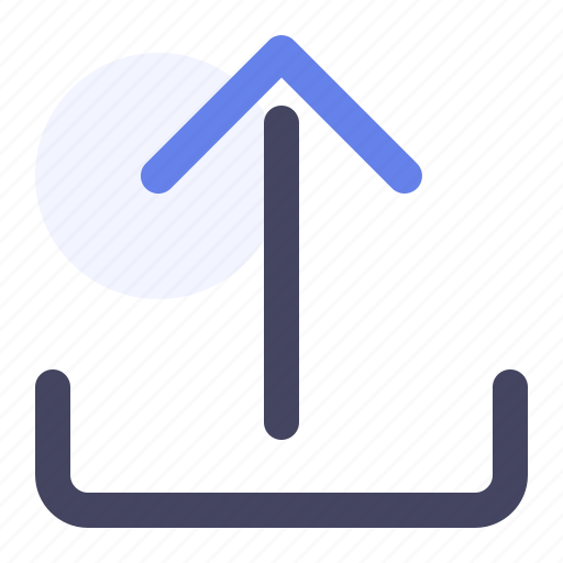 arrow up, cloud, up, upload icon