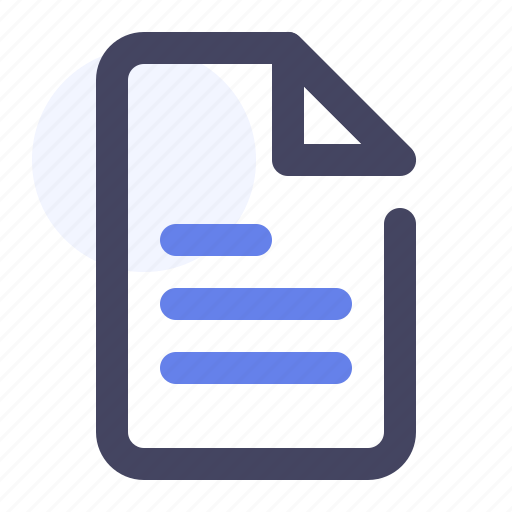 document, documents, file, folder, format, paper icon