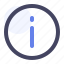circle, data, info, information icon