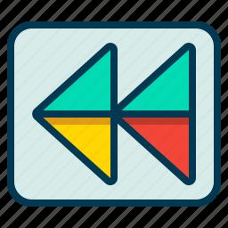 backward, control, play, skip icon