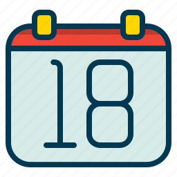 calendar, date, event, important icon