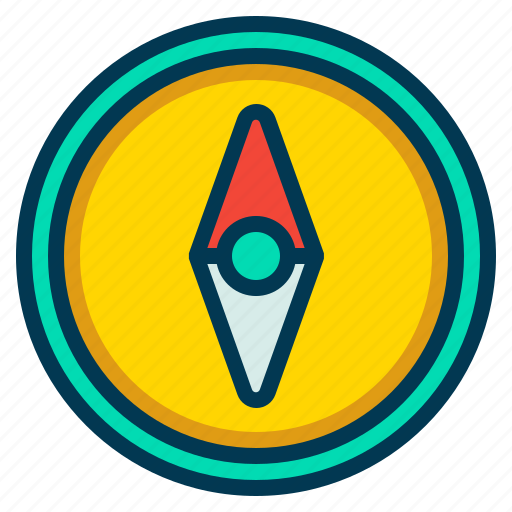 Arrow, compass, direction, map icon - Download on Iconfinder