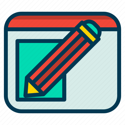 Edit, pencil, retouch, text icon - Download on Iconfinder