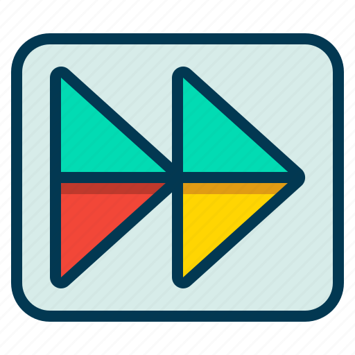 Control, forward, play, skip icon - Download on Iconfinder
