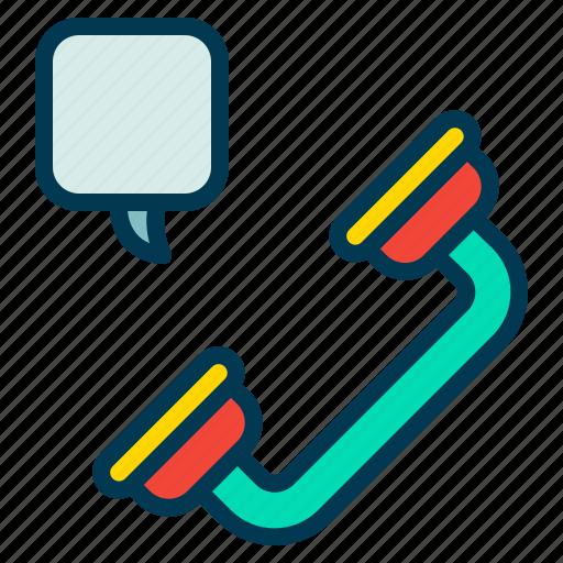call, phone, talk, voice icon