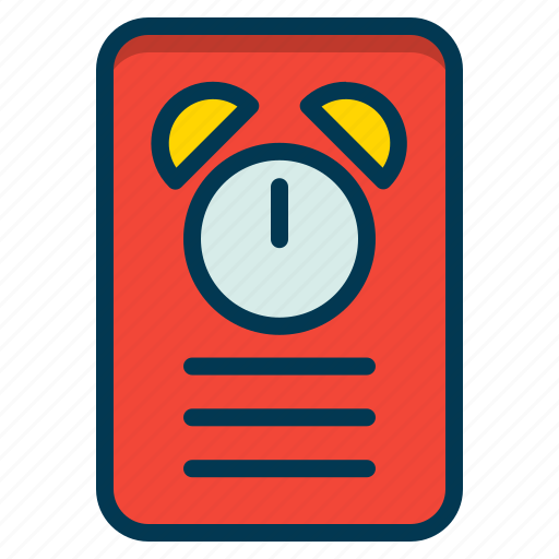 clock, reminder, schedule, timer icon