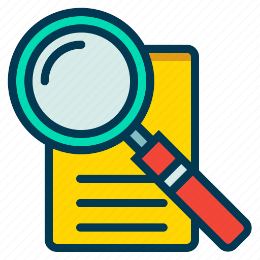 Document, find, magnifier, search icon - Download on Iconfinder