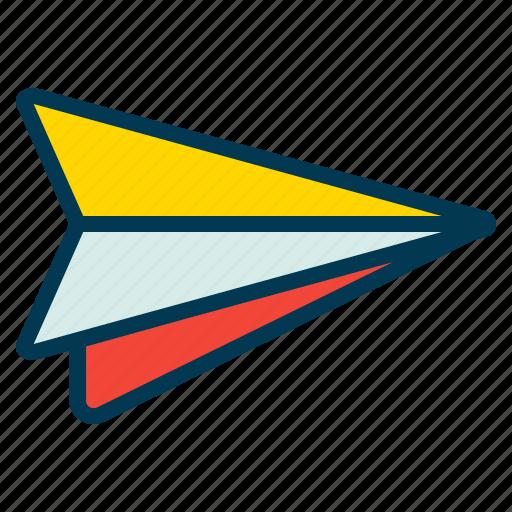 Mail, plane, send, start icon - Download on Iconfinder