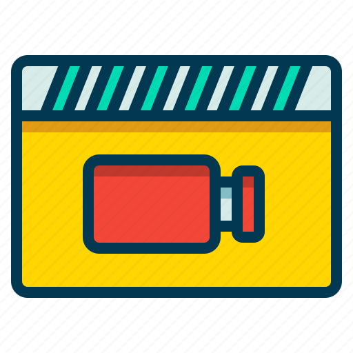 Clip, movie, record, video icon - Download on Iconfinder