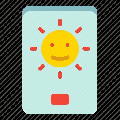 Brightness, indicator, light, screen icon - Download on Iconfinder