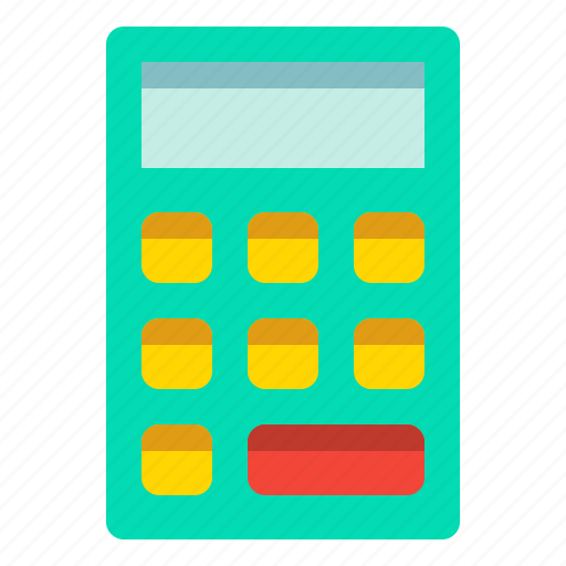 Calculator, math, number, tool icon - Download on Iconfinder
