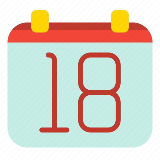 calendar, date, event, important icon