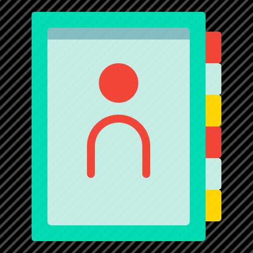 Book, contact, friendlist, journal icon - Download on Iconfinder