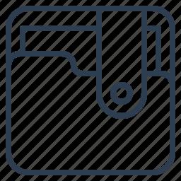 data, file, folder, storage icon